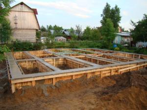 8) Усадка фундамента