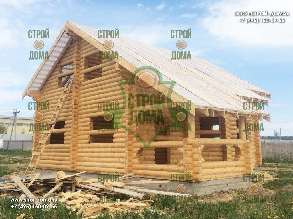 Деревянные дома из оцилиндрованного бревна отзывы